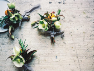 Groom Boutonnieres Wedding Floral design by La Fleur du Jour