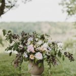 wedding floral design urn arrangement washington dc florist