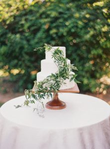 wedding cake floral design washington dc