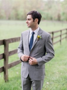 Wedding groom boutonniere Washington DC floral designer