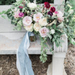 summer garden wedding bridal bouquet